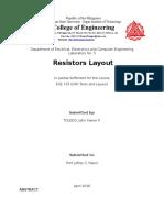 Resistors Layout