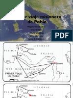 Primer Viaje Misionero de Pablo