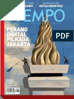 Tempo-Majalah Tempo - Perang Digital Pilkada Jakarta-PT Tempo Inti Media (2016)