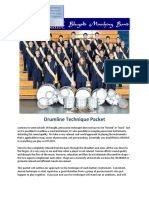 Drumline Packet