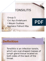 Tonsillitis Ppt Fixxxx