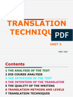 Translation Techniques (1)
