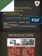 Éxito y Fracaso en El Tratamiento de Endodoncia
