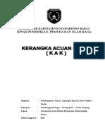 KAK PEMBANGUNAN PAGAR + PAVING SDN - 1 PASIR PANJANG.doc