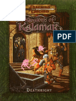 D&D 3.0 - Kingdoms of Kalamar - Deathright