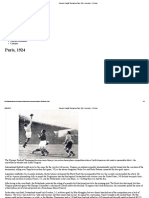 Olympic Football Tournament Paris 1924 - Overview - FIFA