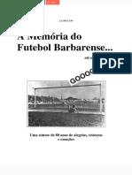 A Memória Do Futebol Barbarense