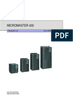 Micromaster MM430 Drive Manual