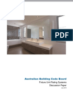 Discussion Paper Fixture Unit Rating Systems July 2015