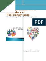 La Segmentación Del Mercado y El Posicionamiento - UTP