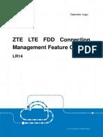 ZTE LTE FDD Connection Management Feature Guide
