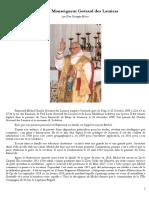 La vie de Mgr Guérard Des Lauriers