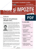 Revista Taxe Si Impozite Luna August 2013