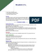 Heimlich & Co. New Version Rules
