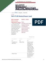 Not-IITJEE-Books(Please Read) - Teaching Mathematics