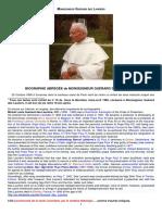 Mgr. Guérard Des Lauriers - Textes
