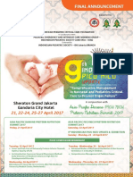Final Announcement 9th Indonesian PICU NICU