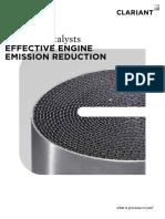 Effective Engine Emission Reduction