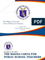 Magna Carta and Code of Ethics