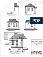 Architectural Drawings for a simple building