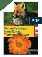 Wilfried Stichmann - Der große Kosmos Naturführer - Tiere und Pflanzen