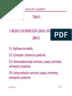 Modelo Regresión Lineal Generalizado