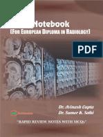 EDiR Notebook (for European Diploma in Radiology)