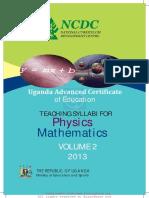 Mathematics Physics 1