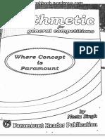 Paramount Arithmetic(B&W)