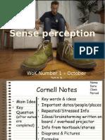 sense perception lecture