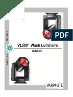 VL500 Service 0
