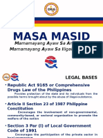 Masa Masid Program