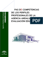 Mapa de Competencias Profesionales Agaeve