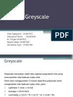 Analisa Greyscale