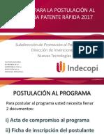 Tutorial Para El Llenado de La Ficha de Patente Rápida