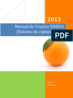 Manual Simdia Web Admin