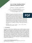 Aysolmaz, Yaldiz, Reijers - 2016 - A Process Variant Modeling Method Comparison Experience Report