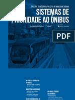 Criterios Tecnicos Para Projetos de Mobilidade Urbana - Sistemas de Prioridade Ao Onibus