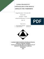 LAPORAN PRAKTIKUM (Klasifikasi Citra Satelit)