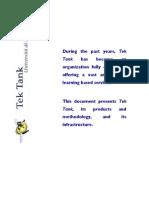 tektank presentation