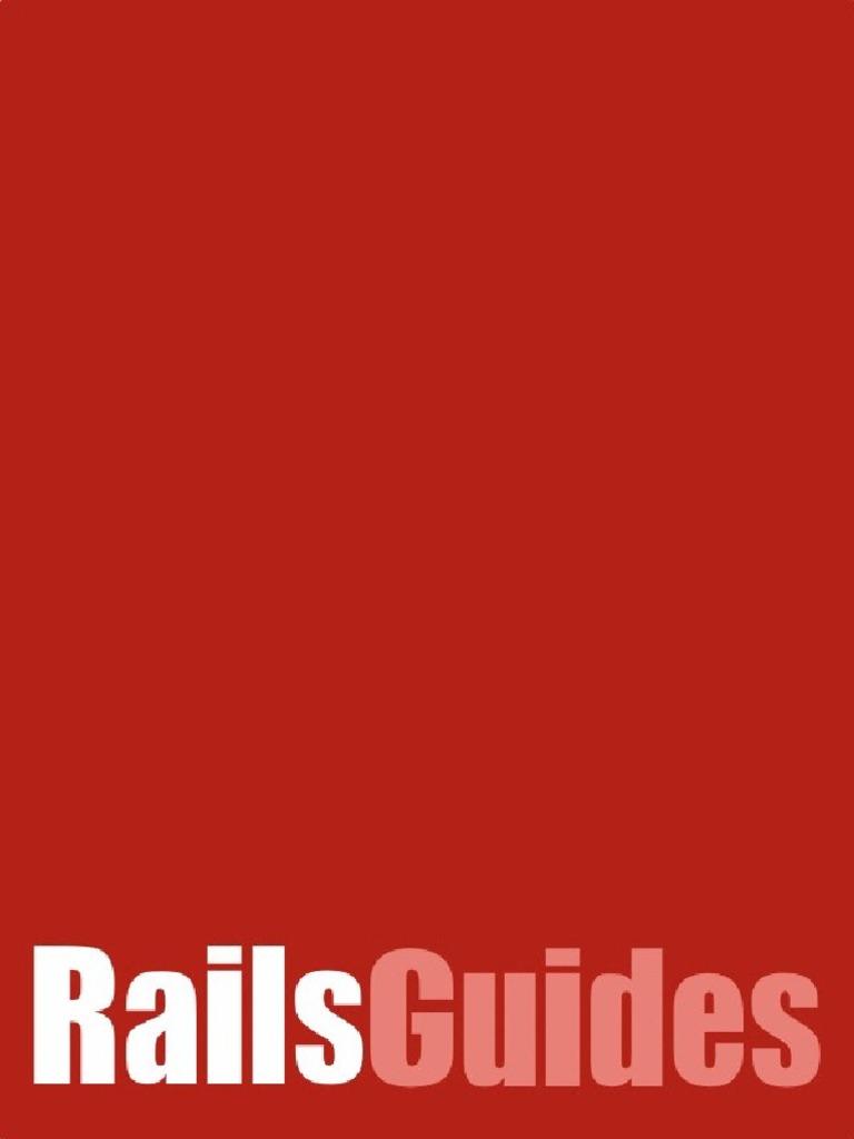 Ruby On Rails Guides V2 Ruby On Rails Ruby On Rails Web Server