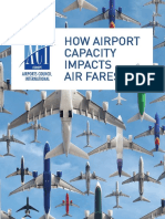 ACI EUROPE Synopsis - How Airport Capacity Impacts Air Fares