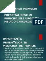 Urgente Medico- Chirurgicale2017