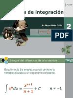 Integración Por Fórmulas 02