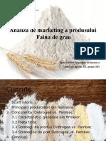 Analiza de Marketing a Fainii de Grau