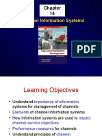 Ch 14 Channel Information Systems