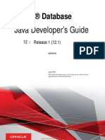 Oracle Database Java Developers Guide | Java (Programming Language