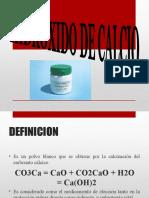 Cemento de Hidroxido de Calcio