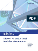 Edexcel AS and A Level Modular Mathematics Core Further Mathematics 3