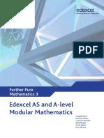 Edexcel AS and A Level Modular Mathematics Core Further Mathematics 3